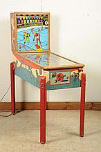 Williams Silver Skates Pinball Machine (1953).