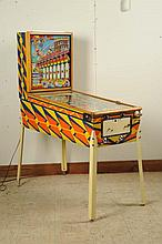 Gottlieb Sittin' Pretty Pinball Machine (1958).