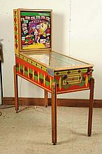 Gottlieb Dragonette Pinball Machine (1954).