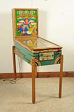 Gottlieb Lovely Lucy Pinball Machine (1954).