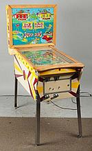Gottlieb's Seven Seas Pinball Machine with Keys.