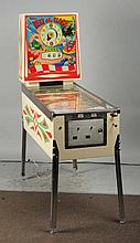 William's Beat the Clock Pinball Machine (1963).
