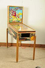 Gottlieb Just 21 Pinball Machine (1950).