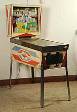 1960s Gottlieb Preview Pinball Machine (1962).
