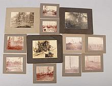 Lot of 12: Photos Lumbering & Saw Mills.