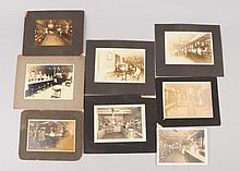 Lot of 8: Photos Soda Fountains & Bars.