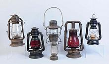 Lot of 6: Lanterns.