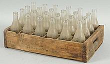 Case of Pepper Soda Bottles.