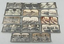 Lot of 14: Stereoviews Logging & Lumber.
