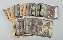 Lot of 22: Stereoviews Early Foreign Military.