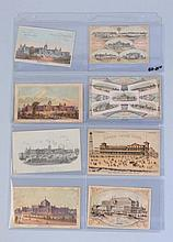 Lot of 8: Centennial Expo Trade Cards.