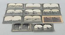 Lot of 11: Stereoviews Early Farming Scenes.