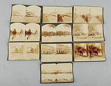 Lot of 10: Early Denver Colorado Stereoviews.
