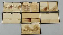 Lot of 7: Early Kansas Scene Stereoviews.