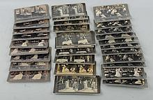 Lot of 5: Humorous Stereoview Sets.