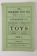1911 Wilkins Cast Iron Toy Catalogue.