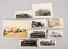 Lot of 8: Photos Autos & Service Stations.
