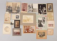 Lot of 25: Early Photos American Life.