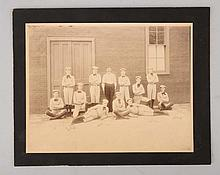 Early Athletic Team Photo.