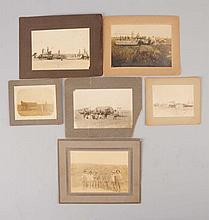 Lot of 6: Photos Early Farming Scenes.