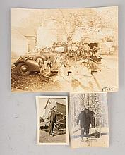 Lot of 3: Photos Hunting Scenes.