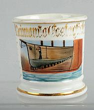 Ship Builders Shaving Mug.