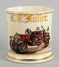 Fire Truck No.5 Shaving Mug.