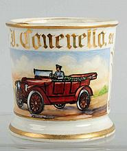 Open Air Touring Automobile Shaving Mug.