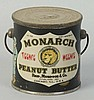Monarch Peanut Butter Pail w/ Handle.