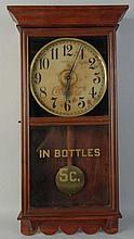 Modern Coca-Cola Advertising Clock.