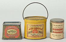 Lot of 3: Small Product Tins.