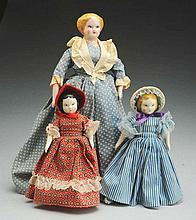 Lot of 3: Ruth Gibbs Dolls.