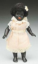 Lovely Black All-Bisque Doll.