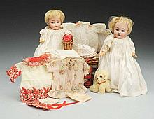 Pair of Kestner 143 Dolls.