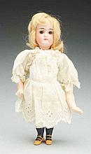 Petite K & R Child Doll.