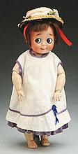 Impish Kestner Googly Doll.