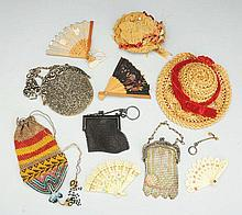 Lot of Antique Doll Accessories.