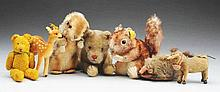 Lot of 8: Stuffed Animals.