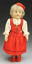 Winsome German Steiff Child Doll.