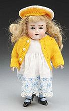 Cute Kestner All-Bisque Doll.
