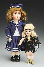 Lot of 2: Reproduction Dolls.