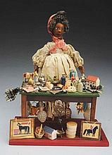Unusual Peddler Doll.