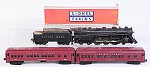 Lionel No.773 Hudson & 2 Madison Cars.