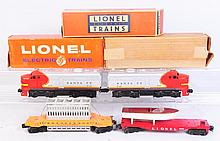 Lionel No.218 Santa Fe Partial Set.