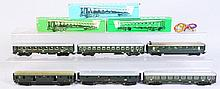 Lot of 6: Marklin HO Trains.