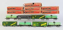 Lot of 8: Assorted Marx Scale Cars.