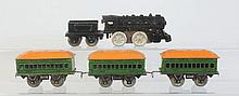 Marx Cast Iron Steam Locomotive Wind-up.