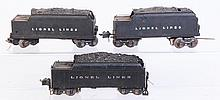 Lot of 3: Assorted Pre-War Tenders.