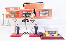 Lot of 7: Lionel Assorted Accessories.