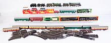 Large Grouping of Tri-Ang HO Trains.